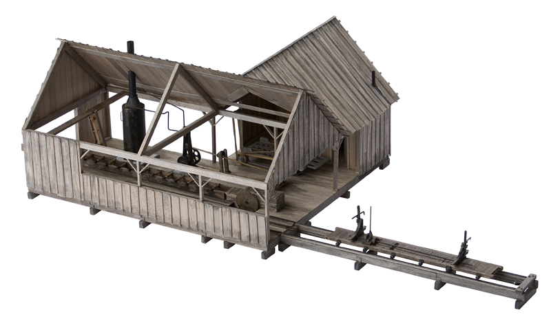 O scale craftsman structure kits